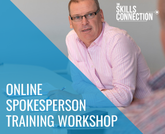 Online spokesperson training workshop